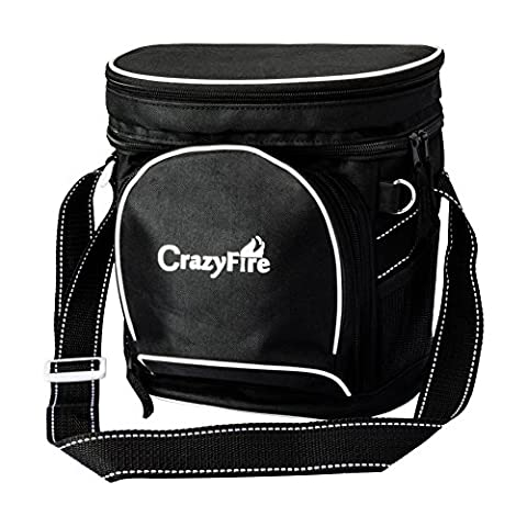 CrazyFire Insulated Cooler Bag,Portable Insulated Tote Bag Cooler Lunch Box,Waterproof 9-can Picnic Insulated Cooler Tote Bag Organizer Box with Strong Travel Zipper for Picnics Camping Beach BBQ