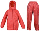 Dry Kids jacket and trouser set bright red 2yrs