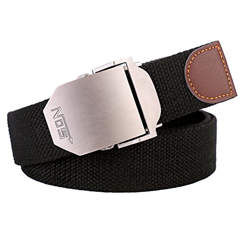 Canvas Web Men Belt Military style with ajustable buckle 51
