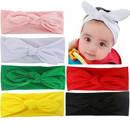 6pcs  (Childs White Rabbit Hat)