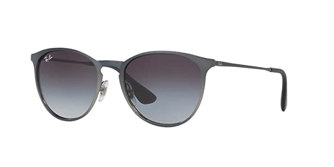 583f285a1a Image Unavailable. Image not available for. Color  Ray-Ban Womens Erika  Metal Sunglasses (RB3539) Grey Grey ...