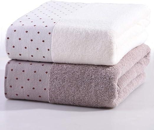 LIANG 2 Paquetes de Toallas de baño de algodón Grandes, envolturas ...
