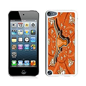 Beautiful Designed Case With NCAA Big 12 Conference Big12 Football Texas Longhorns 18 White For iPod Touch 5 Phone Case
