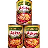 Country Isle Jamaican Ackee in the Can, Perfect with Saltfish and Breadfruit, Tree Fresh (Single Can)