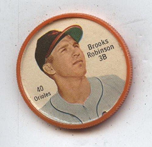 1962 Salada Baseball Coin #40 Brooks Robinson Nrmt