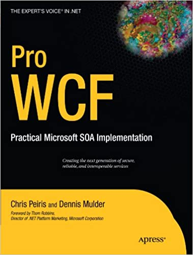 Wcf 4. 5 multi-layer services development with entity framework.