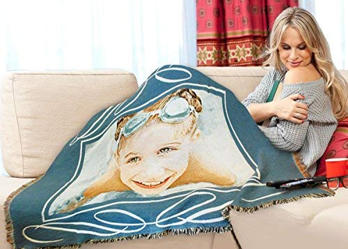 Pure Country Weavers Custom Photo Throw Blanket 100% Cotton (54X70H) by Pure Country Weavers (Image #3)