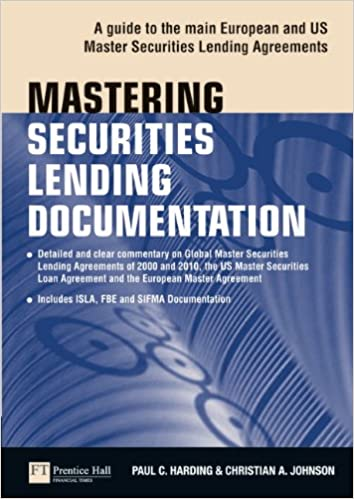 Amazon Mastering Securities Lending Documentation A Practical