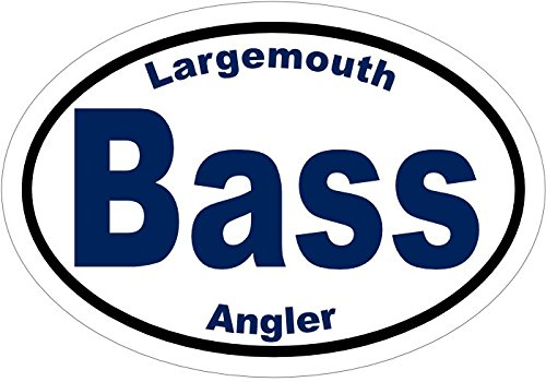 - WickedGoodz Largemouth Bass Angler Fishing Vinyl Window Decal - Fishing Bumper Sticker - Perfect Largemouth Angler Gift