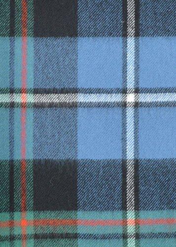 (The Tartan Blanket Co. Scottish Lambswool Blanket Macrae Hunting Ancient Tartan (55