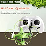 DaySeventh RC101 Drone 2.4G 4CH 6-Axis Mini RC Gyro Aircraft Toys Helicopter Quadcopter Without Camera (Green)
