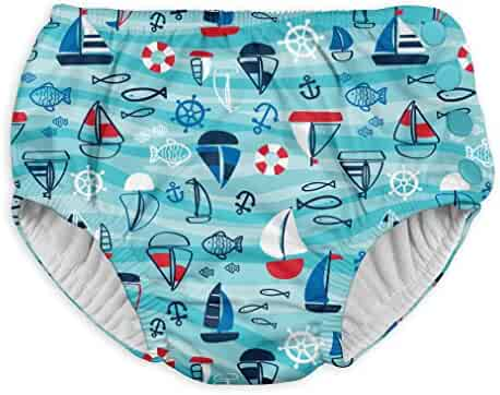 i play.. Baby Boys' Snap Reusable Absorbent Swimsuit Diaper
