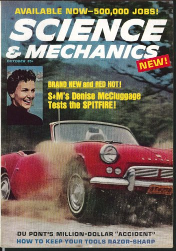 SCIENCE & MECHANICS Denise McCluggage Spitfire Saab for sale  Delivered anywhere in USA
