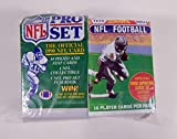 300 Vintage NFL Football Cards in Old Sealed Wax