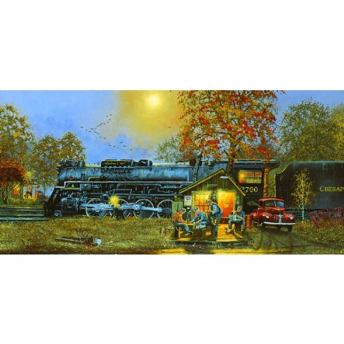Passing Time 1000pc Jigsaw Puzzle by Dave Barnhouse 1000pc Sunsout Jigsaw Puzzle