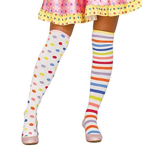 Générique Bas clown pastel femme