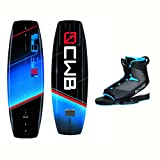 CWB Reverb Wakeboard With Optima 2 Bindings 2017 - 136cm/Large-X Large