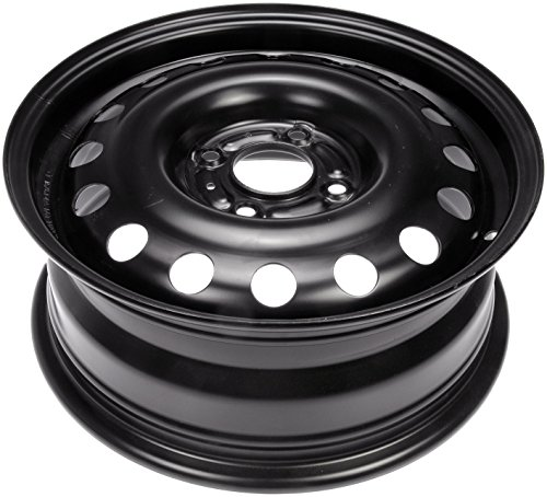 Dorman Steel Wheel with Black Painted Finish (15×6″/4x108mm)
