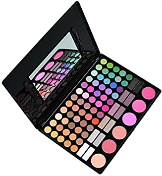 Amazing2015 Cosmetics Professional 78 Colour Eyeshadow Makeup Palette Kit with 6 Blush Blusher and 12 Shade 02