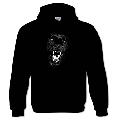finest selection 3df5e f90c8 Bang Tidy Clothing Men's Black Panther Hoodie at Amazon ...