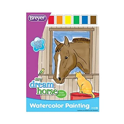 Breyer Horse Watercolor Painting Book
