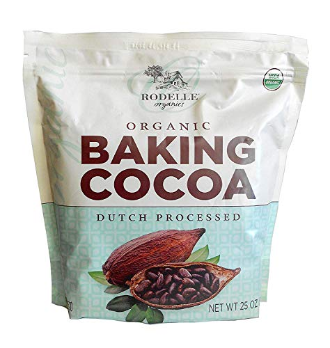 Cocoa Red (Rodelle Organic Baking Cocoa Powder Dutch Processed 25 Oz.)