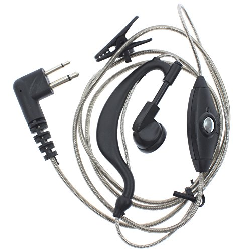 Used, AOER 2-Pin Black Aluminum Foil Earpiece Earphone Headset for sale  Delivered anywhere in USA