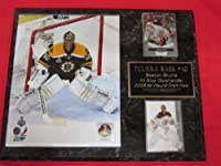 Tuukka Rask Boston Bruins 2 Card Collector Plaque w/8x10 Photo