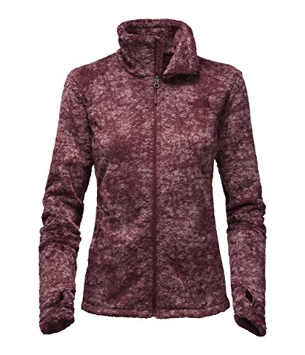 North Face Women's Novelty Osito Jacket, Deep Garnet Red ...