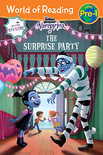 One Christian Toddler Shirt - World of Reading: Vampirina The Surprise Party (Pre-Level 1 Reader): with stickers