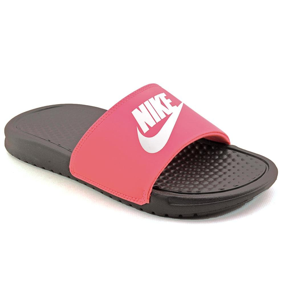 77906d94a94e1 Nike Benassi JDI Youth Girls Pink Slides Sandals Shoes Size UK 11.5   Amazon.co.uk  Shoes   Bags