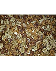 Blandade nötter 1 kg (mandlar, hasselnötter, cashewnötter, pekannötter, paranötter och valnötskärnor)
