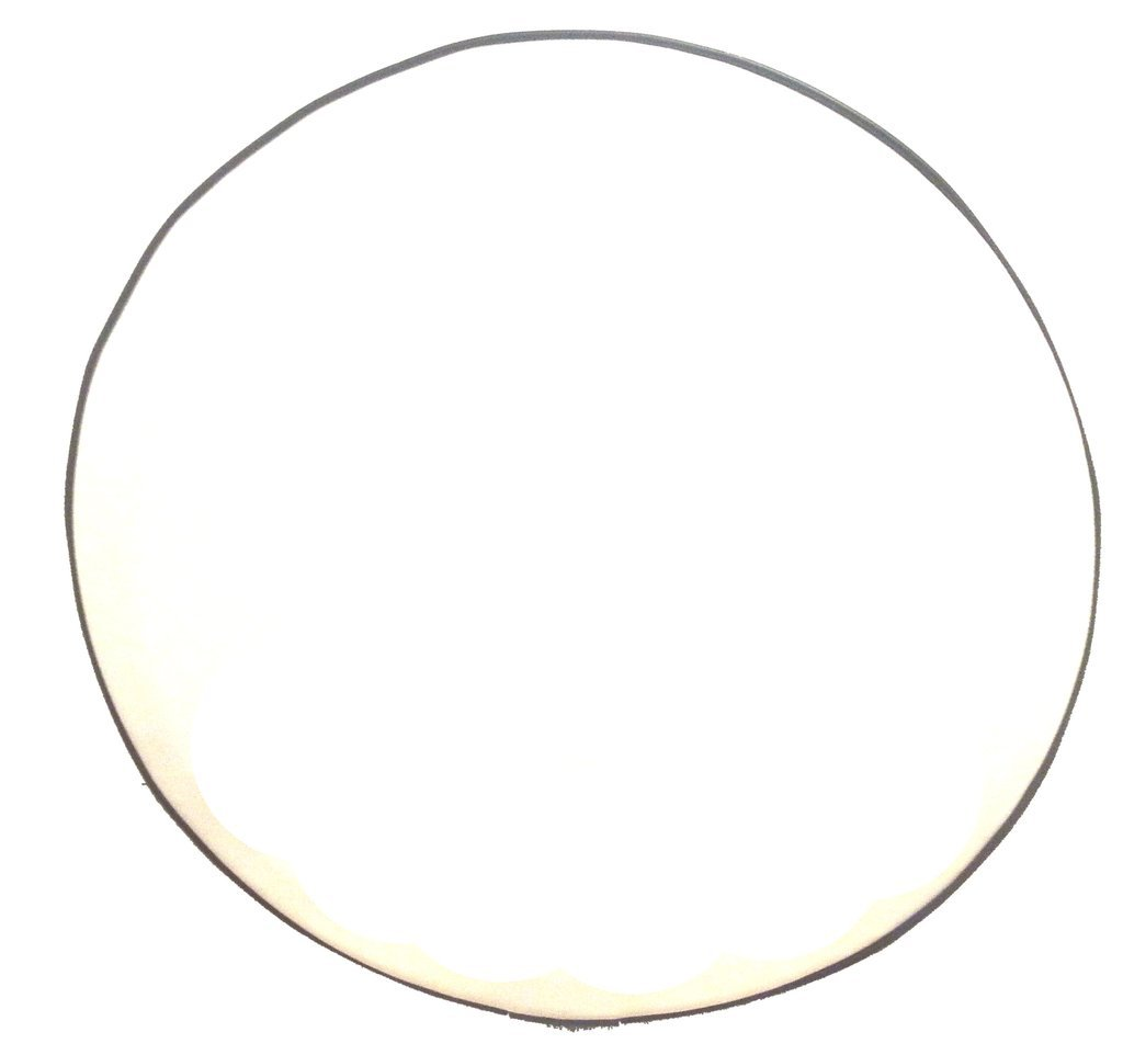 SpareCover abc-blank-31-WHITE ABC Series 31 Blank Tire Cover