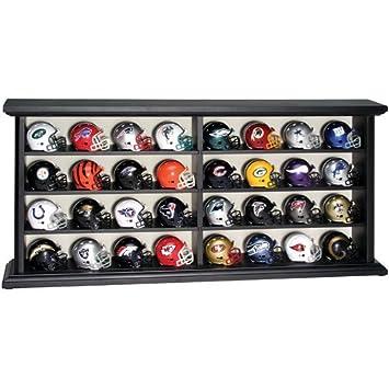 NFL liga de la Revolución Pocket Pro casco Set en madera pantalla