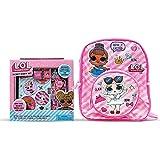 "L.O.L Surprise! Backpack 12"" Bundle with L.O.L Surprise! Secret Diary Set for girls/Gift Set"