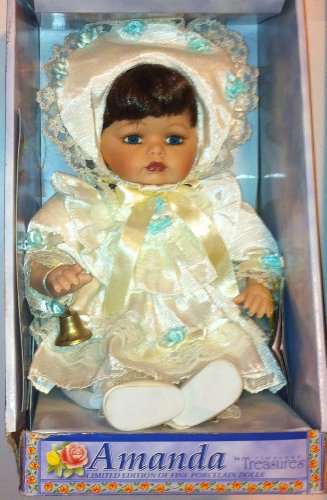 Amanda Limited Edition of Fine Porcelain Dolls Porcelain Timeless Doll