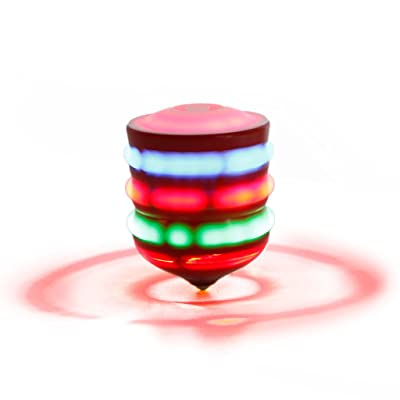 Autone Multi Color Spinning Tops Toy Flash Light Gyro with Music for Kids Gift: Toys & Games