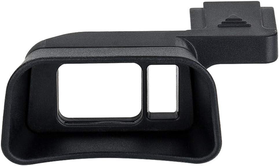 Soft Silicon Camera Viewfinder Eyecup Eyepiece Eyeshade for Fujifilm Fuji X-E3 XE3 Mirrorless Camera Eye Cup Protector (Hot Shoe Mount Installation)