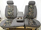 seat covers for toyota tundra - 2000-2004 Toyota Tundra Seat Covers Brown/Savanna Camo 40/60 Split Seat with Adjustable Headrest and Center Console in Camo Endura
