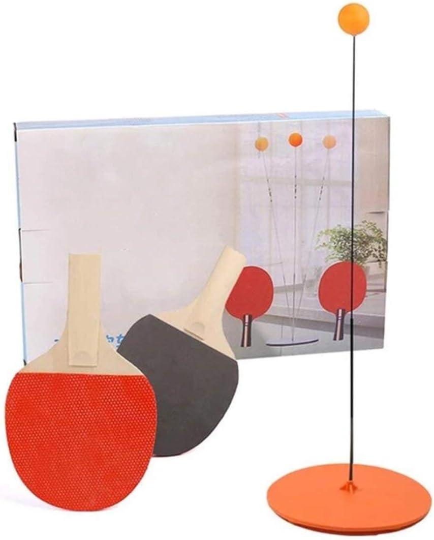 Justdodo Entra/îneur de Tennis de Table artefact dauto-Formation Enfants Jouets Maison-Parent interactif Jouets Anti-myopie-Jaune