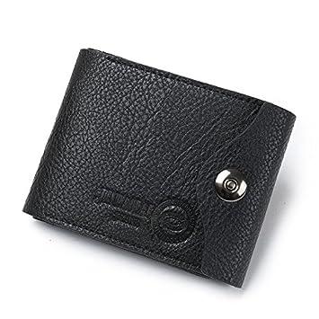 Lucrative shop Designer Famous Brand Short Men Wallet Purse Carteras Walet Bag Money Pocket Vallet
