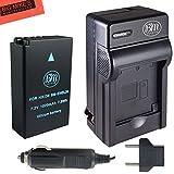 BM Premium EN-EL20, EN-EL20a Battery and Battery Charger for Nikon DL24-500, Coolpix A, 1 AW1, 1 J1, 1 J2, 1 J3, 1 S1, 1 V3 Digital Camera