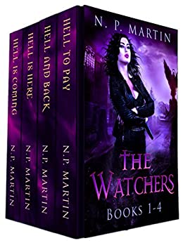 The Watchers Series Books 1-4 by [Martin, N.P.]