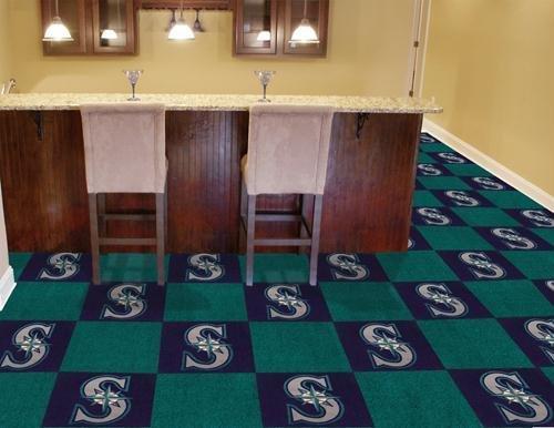 (MLB - Seattle Mariners Carpet Tiles)