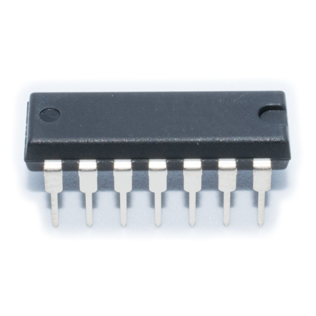 74LS93 IC digital 4bit, binary counter DIP14 SN74LS93N TEXAS INSTRUMENTS