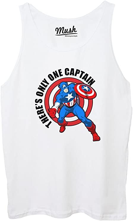 MUSH Only One Capitán América – Cartoon by Dress Your Style ...