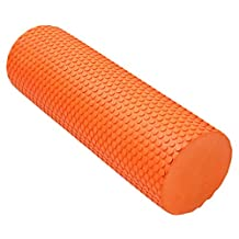 AOOPOO Elite Pilates Yoga EVA Foam Roller - Yoga, Pilates, Fitness Routines, Rehabilitation Training, Stretching, Improving Core Muscles, Strength, Posture, Stability, Massage Therapy