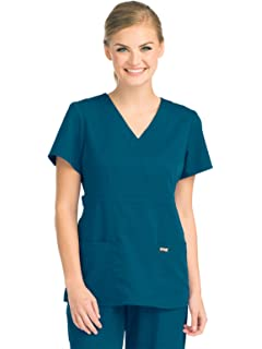 a197e8fe43c Amazon.com: Grey's Anatomy 4-Pocket Yoga Knit Pant for Women ...
