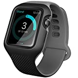 Apple Watch 3 Case 42 mm, i-Blason [New Unity Series] Premium Hybrid Protective Bumper Protective Case for Apple Watch 42 mm 2017 Release [Compatible with Apple Watch 42mm 2015 2016]