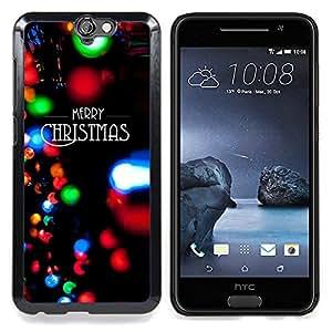 - Merry Christmas Lights Black Winter Xmas - - Monedero pared Design Premium cuero del tir???¡¯???€????€??????????&fn